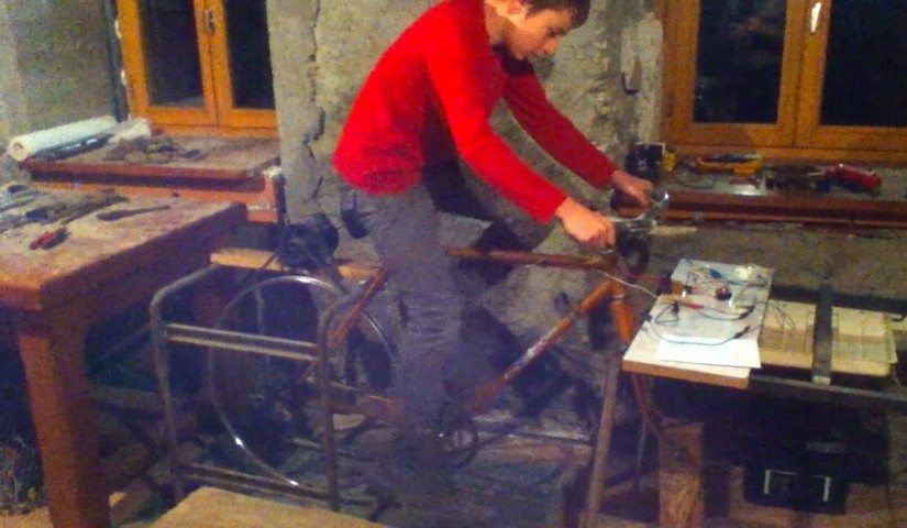 HuPo generator demo by Erik&Sylvain